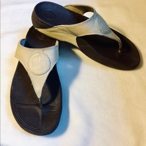 FITFLOP LEATHER SANDALS